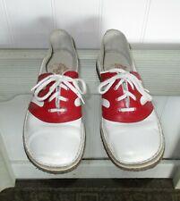Vintage Ladies Color Pacers Pep Stompers Cheerleader Shoes Us 6.5