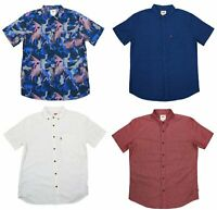 Levi's Men's Short Sleeve Button Down Shirt NWT - Choice of Style & Size