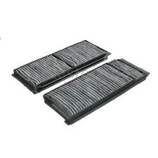 2Pcs Carbon Fiber Cabin Air Filter For Mazda 5 06-10 Mazda 3 04-09 BP4K-61-J6X