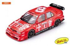 SLOT IT SICW22 ALFA ROMEO 155 V6 TI DTM WINNER 1993, #8 1/32 SLOT CAR LT. ED BOX