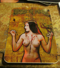 CRADLE OF FILTH STICKER COLLECTIBLE RARE VINTAGE 90'S METAL LIVE WINDOW DECAL