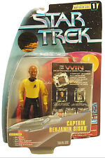 "Star Trek Captain Benjamin Sisko TT 4.5"" Action Figure 1997 5+ Carded Playmates"