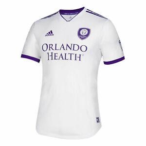 Adidas MLS Orlando City Jersey White/Purple Sz M D98983