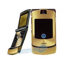 Motorola RAZR v3i oro SBLOCCATO utilizzabile con qualsiasi SIM -Garanzia italia