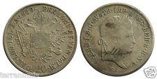 b017 AUSTRIA 20 KREUTZER 1839 E SILVER COIN ÖSTERREICH