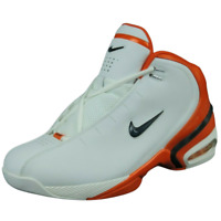 Nike Air Unstopp Able 307130 141 Basketball Mens Shoes Retro White Mid Sz 11 DS