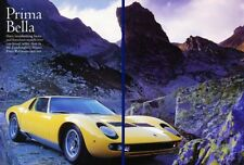 Lamborghini Miura Original Car Review Report Print Article K21 1970