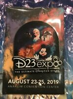 Disney D23 Expo 2019 The Ultimate Fan Event Pin New In Hand Mickey Elsa Woody BP