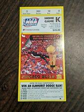 Chicago Bulls Utah Jazz 1998 NBA Finals Game 3 Ticket Stub