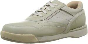 Rockport K71110: Men's M7100 Prowalker Sport White/Wheat Walking Shoe