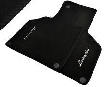 Floor Mats For Lamborghini Gallardo Black Tailored Carpets With Lamborghini Logo