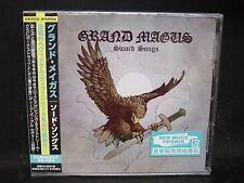 GRAND MAGUS Sword Songs + 2 JAPAN CD Spiritual Beggars Firebird Death Cult Bajen
