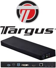 TARGUS ACP70AU Dock USB 3 DUAL Display VIDEO Docking Station *NO POWER APAPTER*