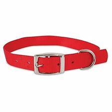 "Aspen Pet Products NYL Collar, Red, 22"" x 1"""