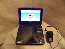 Philips PET741/37 Widescreen 7 Inch LCD Home Car Portable DVD Player W/AC Cord