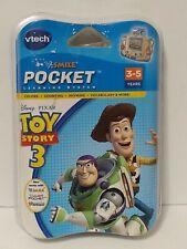 VTECH V. Smile Pocket Learning System Toy Story 3 Game DISNEY PIXAR NEW