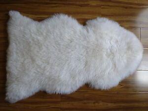 Australian/New Zealand Luxury Genuine Sheepskin Lambskin second-grade