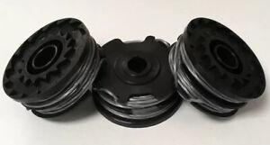 3 x Twin Line & Spool for BOSCH ART24 ART24+ ART27 Strimmer Trimmer FAST POST
