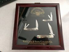 2002 Case Collector's Club 3 Knife Set CCC 6220, 6355 WH, 6111 1/2 SS Knives