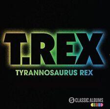 Five Classic Albums [Slipcase] * by T. Rex (CD, Oct-2016, Spectrum Music (UK))