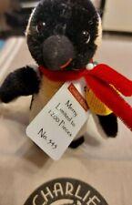 Charlie Bears 2015 Mohair Keyring Merry Penguin Ltd Ed 545/1200 bag