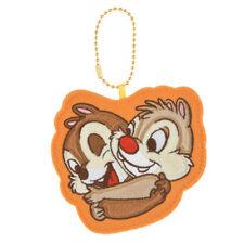 Chip & Dale Stitch Keychain HUG & SMILE - Disney store Japan