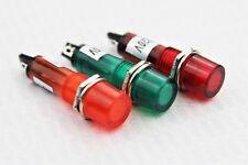 Signallampe 10mm Signalleuchte Meldeleuchte Kontrollleuchte 12V 24V 230V