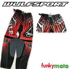 Pantalones de color principal rojo para hombre para motoristas
