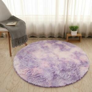 Bubble Kiss Fluffy Round Rug Carpets for Bedroom Living Room Floor Mat Home Deco