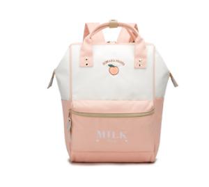 NEW Kawaii Milk Embroidery Backpack Japanese Lolita Shoulder Schoolbag Cute