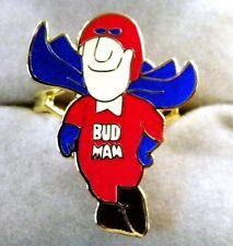 """Budweiser  """" Bud Man """" Adjustable Vending Machine Ring"""