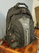 "Swiss Gear by Wenger Checkpoint Laptop Backpack Computer to 15.6"" Padded Straps"
