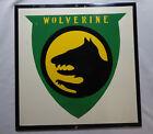 RARE WW1 14th Infantry Wolverine Div. Isorel Masonite SSI Enameled Insignia Sign