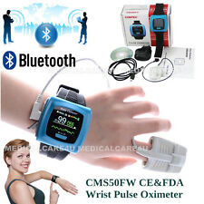 Wearable CMS50FW Wireless Pulse oximeter SPO2 PR Sleep Study Monitor,CE&FDA