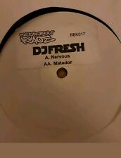 dj fresh nervous matador breakbeat kaos drum and bass vinyl