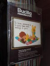 BUCILLA NEEDLECRAFT ROOM TO GROW SAMPLER KIT NIP