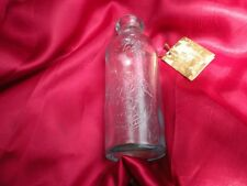 RARE COCA COLA HUTCHINSON (CRAWFORD RAINWATER) BOTTLE with TAG PHAMPLET