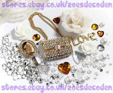 3D DIY Mobile Cell Phone Case gold purse handbag Crystal cabochon Deco Den Kit