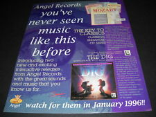 The DIG You've Never Seen Music Like This Before 1995 PROMO POSTER AD mint cond