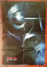 "Planet of the Apes Ds Version A Folded 40x27"" Original Movie Poster 2000s"