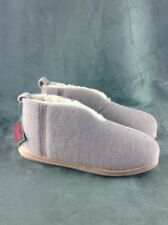 Men's Cozy Loafers Slippers Bootie Tan Size 10M - 9 by Slippers International