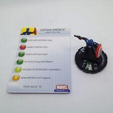 Heroclix Captain America set Captain America #205 Gravity Feed w/card!