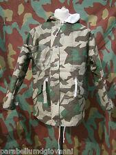 Windejacke, parka imbottito splinter Werhmacht, winter camouflage padded WW2