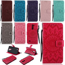 MDKT Wallet Case Cover For LG G5 G4 G3 C40 K4 K7 K8 K10 Moto G2 G4 Play X Style