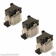 Staple Cartridge Box of 3 Sharp MX-7040N MX-7000N MX-6240N MX-6200N MX-5500N New