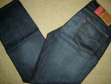 NWT Levi's 514 jeans 34 x 30 Regular Fit Retail $60   Style # 00514-0541
