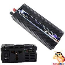 POWER INVERTER 4000W PRESA USB TRASFORMATORE CAMPER AUTO BARCA 12V 220V