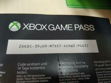 Xbox game pass 1 month subscription for Xbox one
