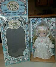 Precious Moments Bride Wedding Doll (1992) Rose Art Vintage 10 inch vinyl NIB