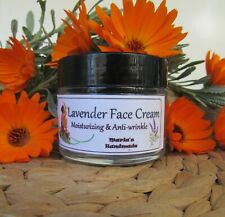 **** FACE CREAM | *** Lavender *** 40ml | Natural Handmade | Vegan Botanical